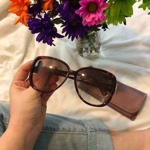 Vintage tortoise Gucci sunglasses